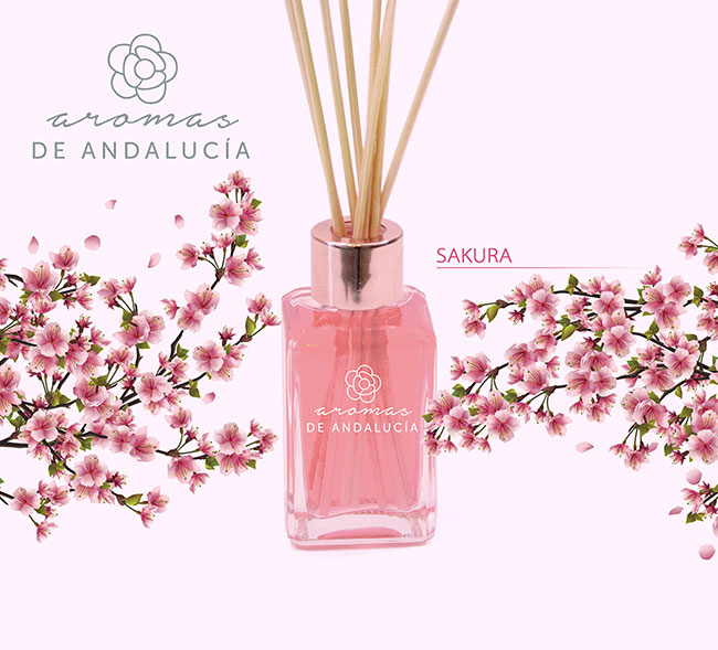 Difusor aroma sakura