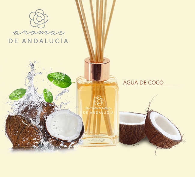 Difusor aroma agua de coco