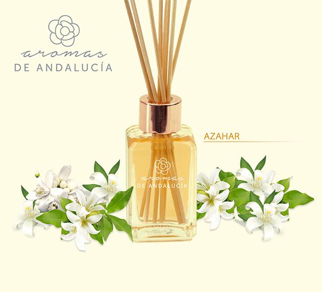 Difusor varillas aroma azahar de la colección azahar