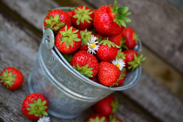 La fresa dentro de la aromaterapia