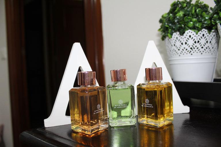 Tres aromas distintos de Aromas en salón