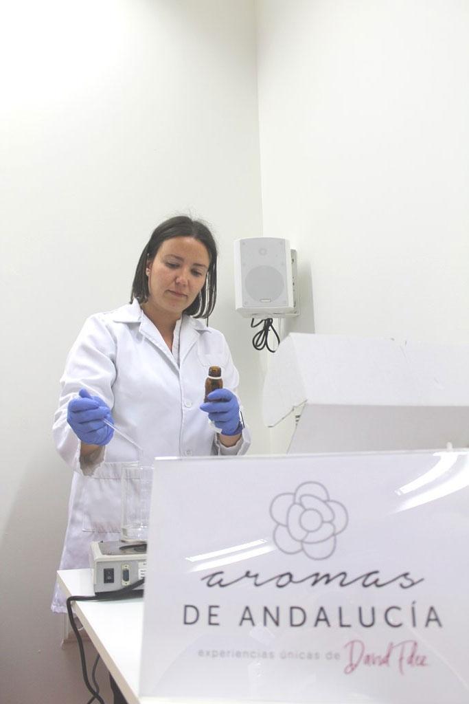 Laboratorio Aromas de Andalucía