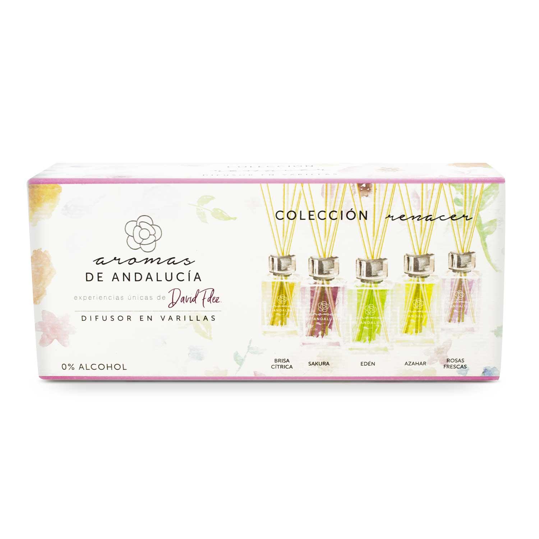 Frontal caja colección Renacer - Aromas de Andalucía