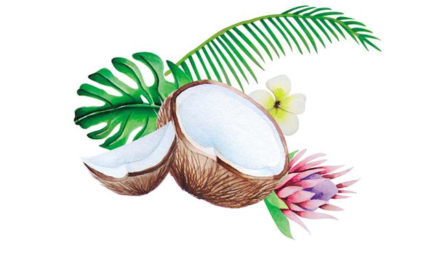 Aromas agua de coco