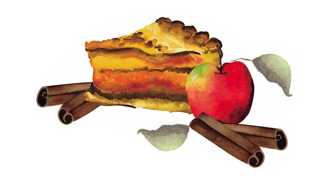 Aromas de Andalucía tarta de manzana