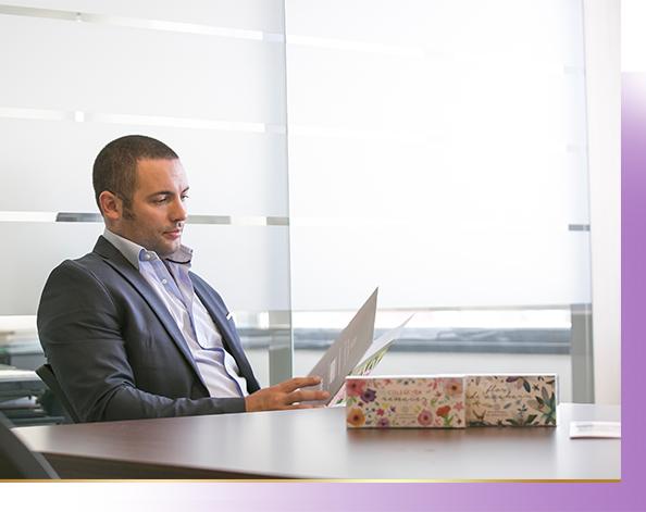 David Fernández en su despacho
