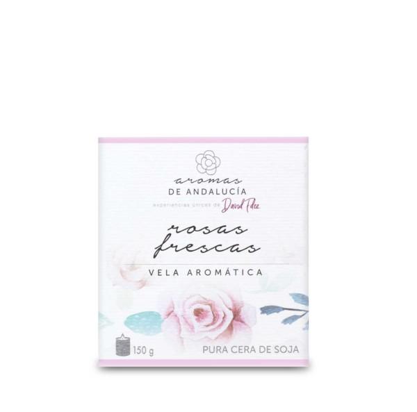 Vela aromáttica 150g Rosas Frescas