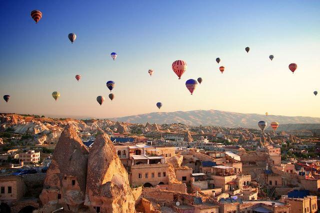 Chimeneas de hadas Capadocia Turquía
