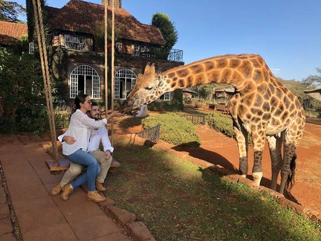 pareja en Tanzania